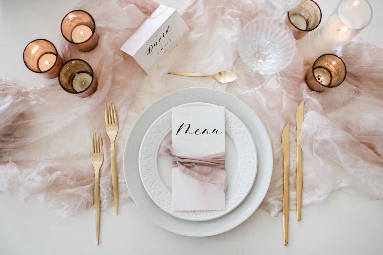 inspiration wedding table setting