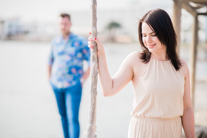Love Story on Talamanca Beach - Hanna + Olly Ibiza
